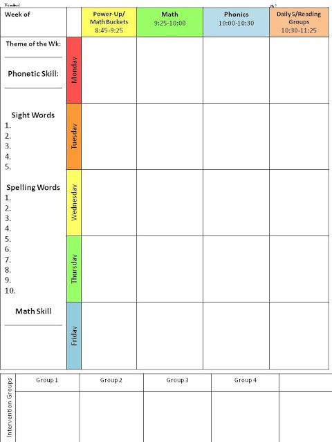 1000+ ideas about Lesson Plan Templates on Pinterest | Teacher ...