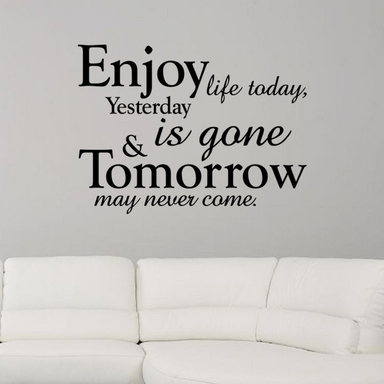 Elegant Enjoy Life Quotes Black And White Mesgulsinyali