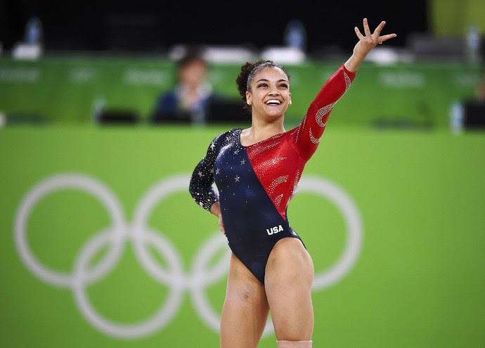 Lauren Hernandez nos Jogos do Rio de Janeiro (Foto: Reuters)