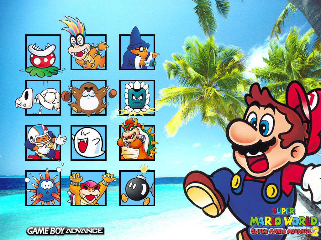 Super Mario Advance 2 Super Mario Bros Wallpaper 5600363 Fanpop
