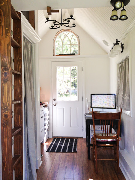 almost glamping tiny house 06   Glamping Tiny House Interior: Would You Live Here?