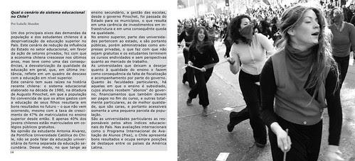 Reportagem - Crise na educação chilena, Revista Olhares do Mundo by Alejandro Bonilla