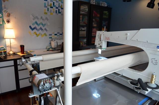 Millennium APQS Long Arm set up