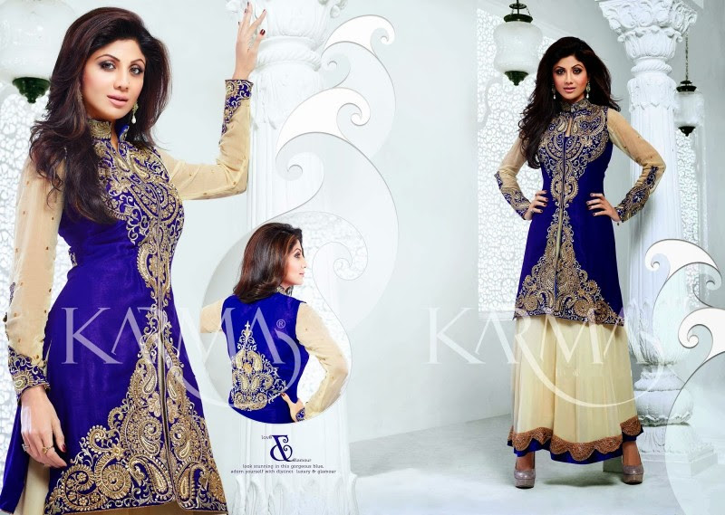 Shilpa-Shetty-Bollywood-Indian-Wear-Ankle-Length-Fancy-Anarkali-Frock-New-Fashion-Dress-8