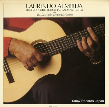 ALMEIDA, LAURINDO first concerto for guitar and orchestra