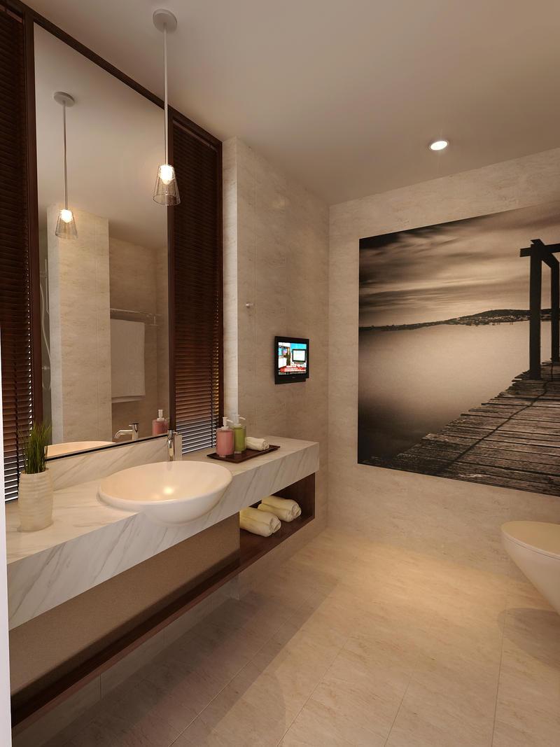 bathroom without bath tub by ~3Dskaper on deviantART
