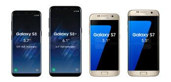 Galaxy S8&S8 Plus vs Galaxy S7&S7 edge