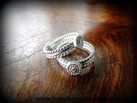 Beautiful toe ring designs (mettelu)   Latest Jewellery