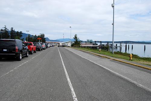 SR 20 north @ Anacortes Dock