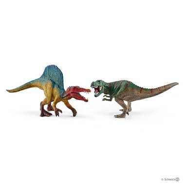 メーカー取寄41455 スピノサウルスとティラノサウルスレックス小
