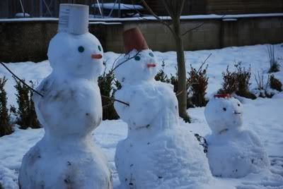 German Snowmen