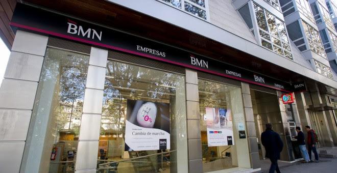 Una oficina De Banca Mare Nostrum.