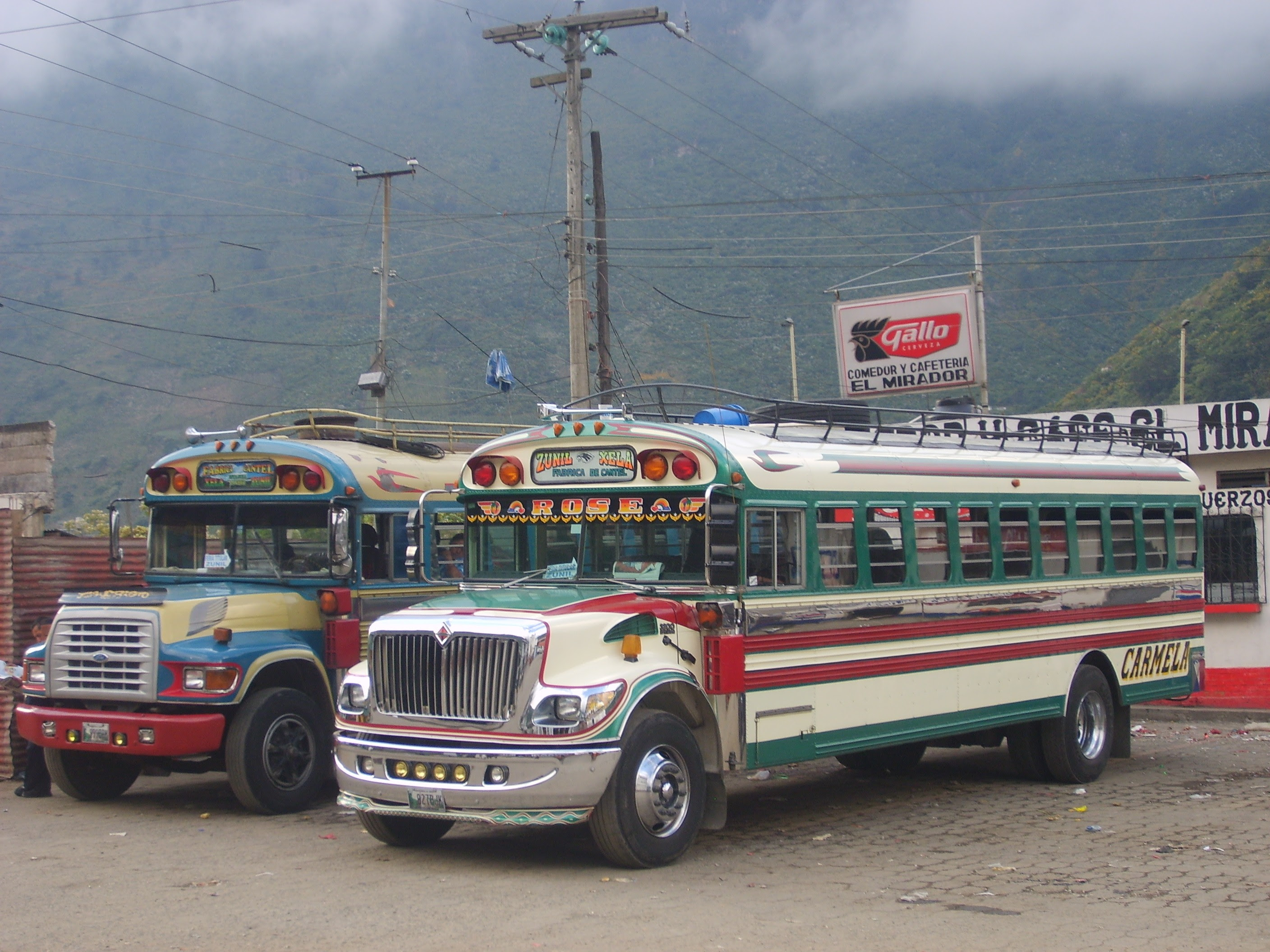 1988 Ford Zunil buses