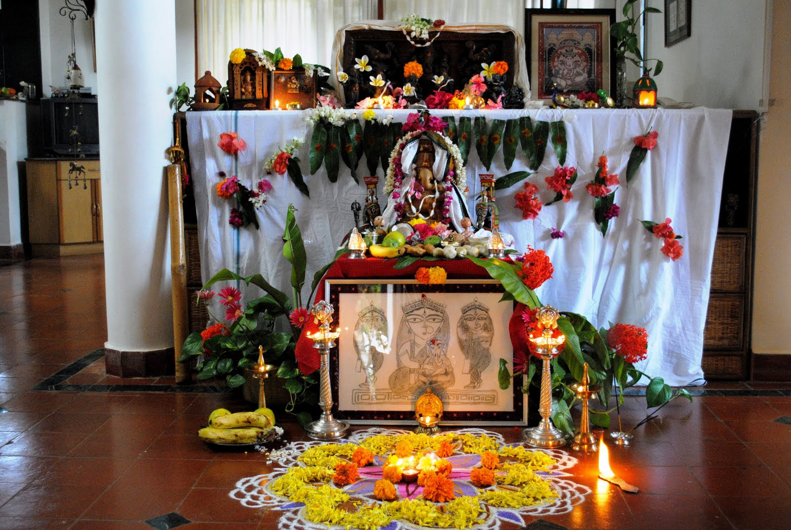 How to welcome Ganpati  once again Interior Designing Ideas