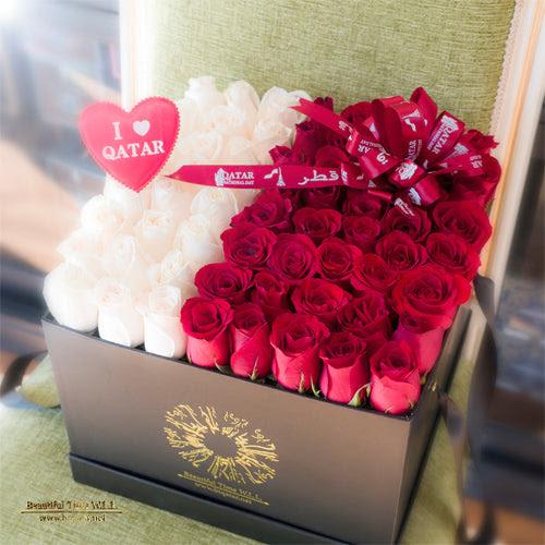 Qatari 4 Bouquet Flower Shop Delivery In Doha Qatar