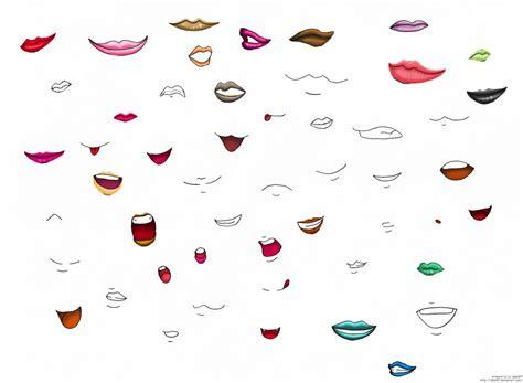 anime lips  mouths  izka  deviantart