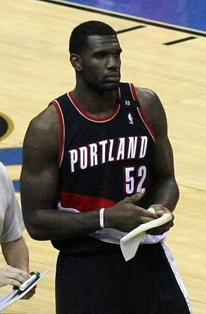 Basketplayer Greg Oden