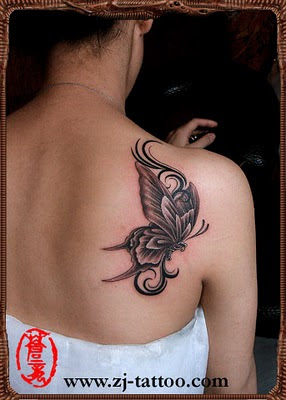 Creating Creative Butterfly Tattoo Designs Cool Animal Tattoos