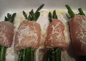 Easiest Way to Cook Appetizing Chicken wrapped asparagus