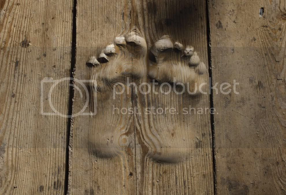 pieds graves Chine