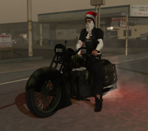 Was Santa A Biker