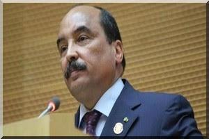 Aziz : le peuple mauritanien ne sera jamais pris en otage par 33 personnes