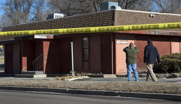 Image: Scene of blast in Colorado Springs