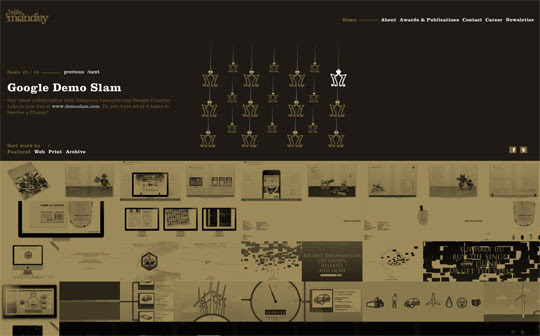 Black Flash portfolio websites