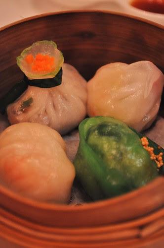 basket of dumplings