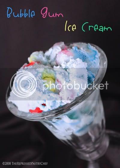 how to make blue bubblegum ice cream