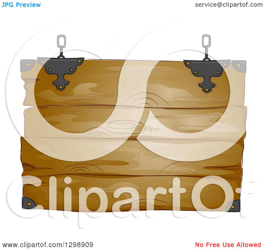 Clipart Hanging Vector a of  Rustic  sign rustic Free  Wooden Sign vector Royalty