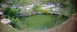 """Cenote de los Sacrificios"" at Chich..."