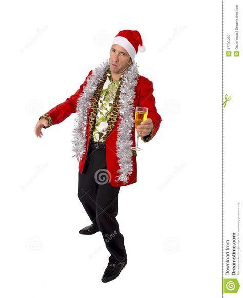 wasted drunk rake senior businessman  champagne