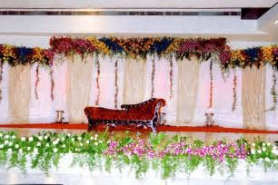 Bangalore Stage Decoration ? Design #379 flower stage