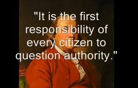 Question Authority Quotes. QuotesGram