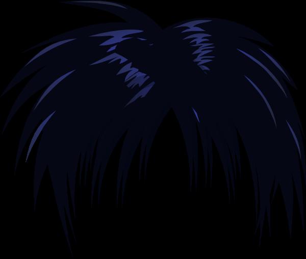 Anime Hair Clip Art at Clker com vector  clip art online