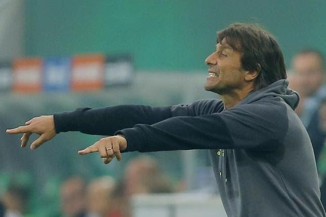 Football Soccer - Rapid Vienna v Chelsea - Pre Season Friendly - Allianz Stadion, Vienna, Austria - 16/7/16Chelsea manager Antonio Conte reactsAction Images via Reuters / Heinz-Peter BaderLivepic