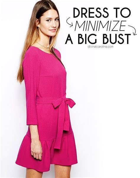 Dressing to Minimize a Big Bust   Beautiful You   Dresses