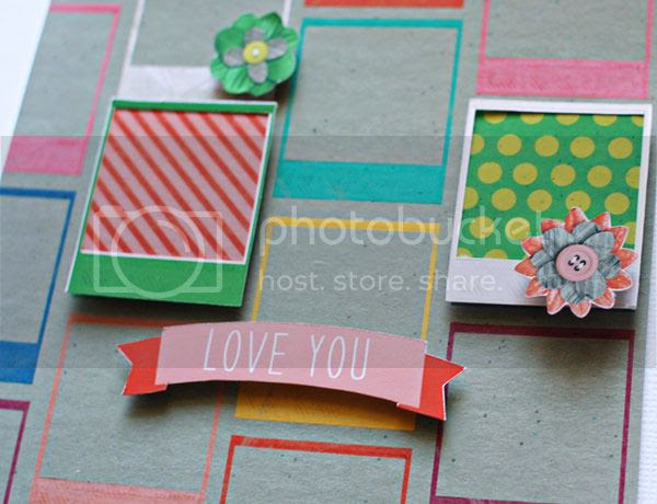 Love You So Much card, Scrap Your Heart Out by Jenn Barrette and Lauren Reid