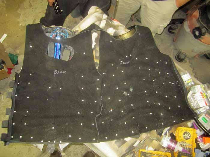 Isaac Clarke Vest Inside