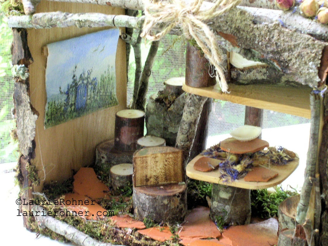 Woodland fairy house by laurierohner.com