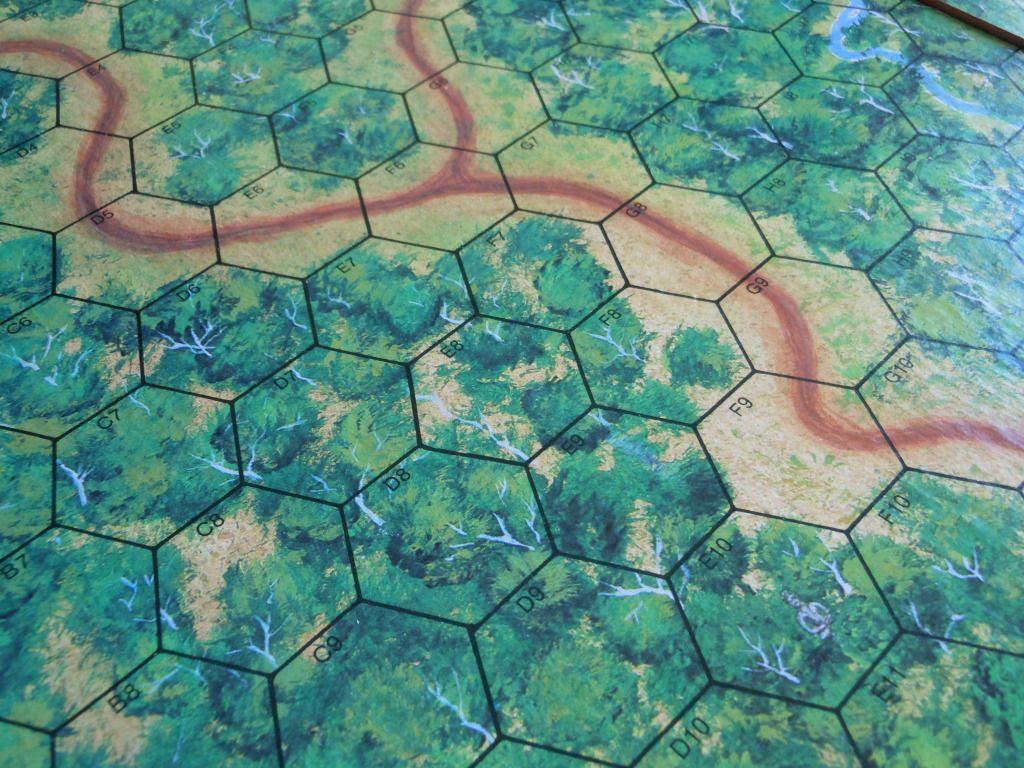 Platoon board game board details
