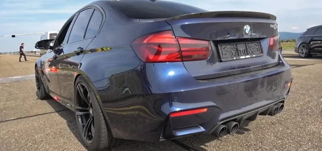 Bmw M3 F80 Ac Schnitzer With Pure Turbos Ac Schnitzer Exhaust
