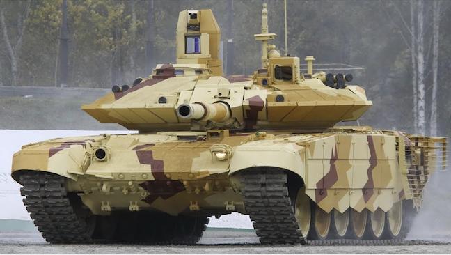 Argelia recibió el nuevo lote de tanques T-90SA y se convierte en la única potencia que opera el T-90 en África