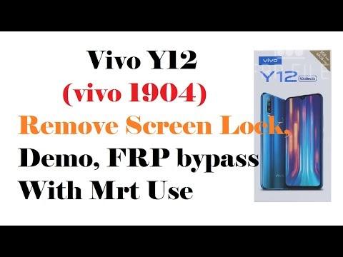 Vivo Y12 (vivo 1904) Remove Screen Lock, Demo, FRP bypass With Mrt Use