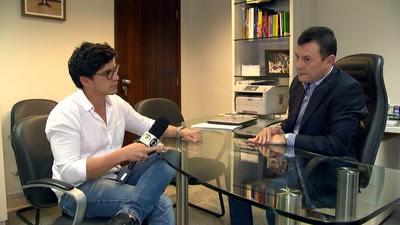 Estevan e Dilson PREP (Foto: TV Globo)