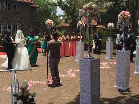 IN PICTURES : Betty Kyalo And Dennis Okari Wedding