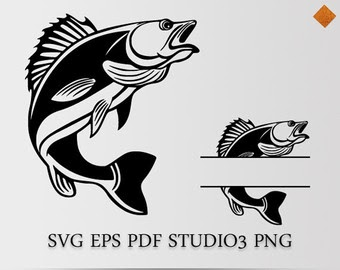 Download Free Svg Bass Fishing Svg Free 16341 Dxf Include