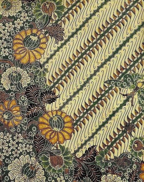 Contoh Gambar Motif Batik Nusantara - Batik Indonesia