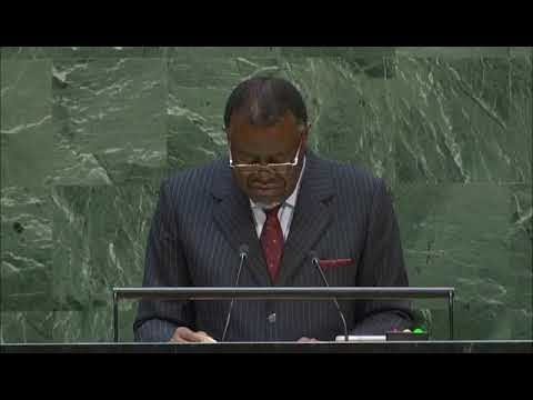 Namibia se compromete ante la Asamblea General de la ONU con la autodetermincion del pueblo saharaui